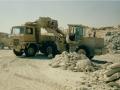 Tipper in quarry